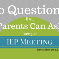 10 Questions to Ask in an IEP Meeting