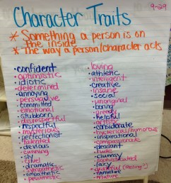 Categorizing Character Traits in a 5th Grade Class - Eat Teach Laugh Craft [ 3264 x 2448 Pixel ]