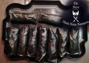 platter of rolls