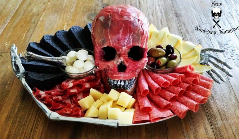 halloween appetizer plate