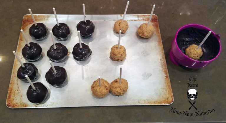 Recipe For Cake Ball Dipped In Coating