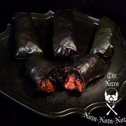 Halloween Recipe: Hell's Fury Curry Rolls