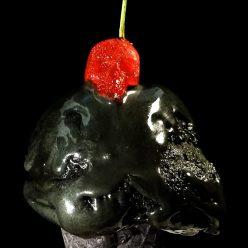Halloween Recipe: Black Cherry Chocolate Chunk Ice Scream
