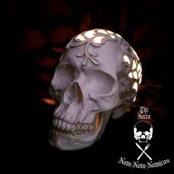 Halloween DIY: Necro-Crafting Skull Desk Lamp