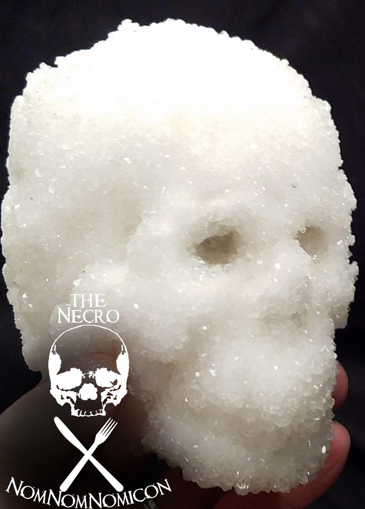 Halloween DIY Easy homemade Crystal Skull ⋆ Wel e to the Necro