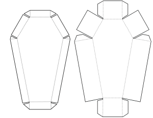 Box And Lid Template With Directions
