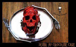original death by chocolate skull cake