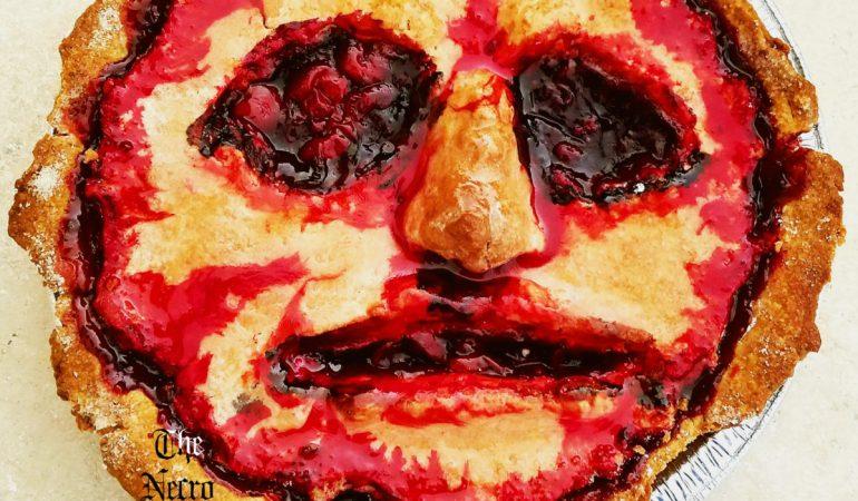 cherry face pie