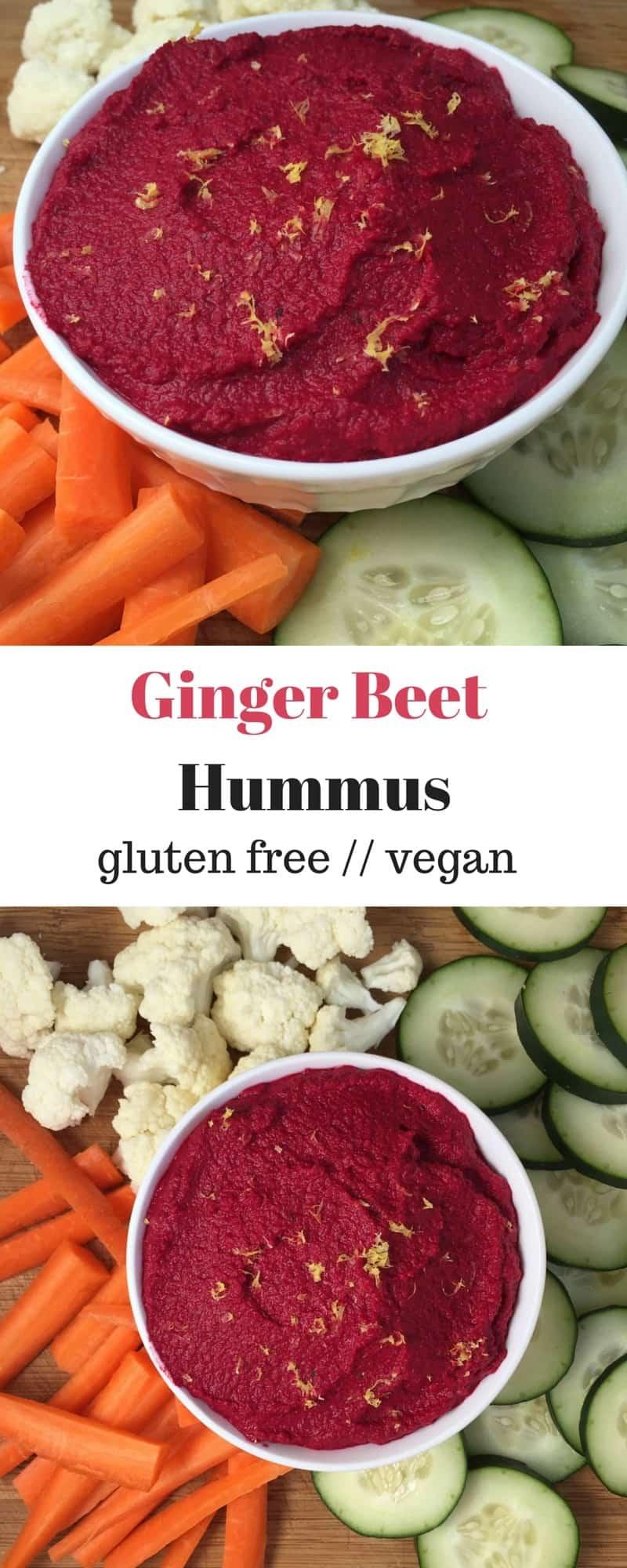 Ginger Beet Hummus