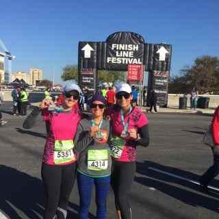 San Antonio Rock 'n' Roll Half Marathon 2015