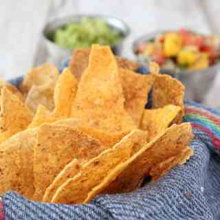 Baked Semi-Homemade Seasoned Tortilla Chips