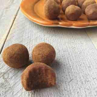 Pumpkin Cinnamon Raisin Balls