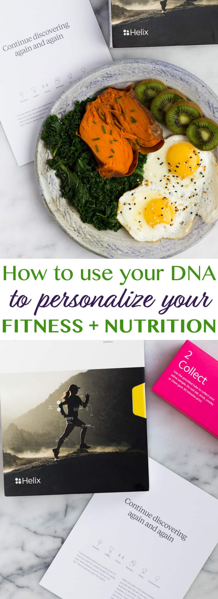 Helix - Using DNA to Personalize Fitness + Nutrition tohelp you reach your goals and the results you have been wanting! #ad #crackyourcode - Eat the Gains