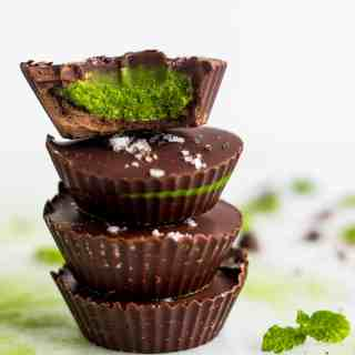 Collagen Mint Matcha Coconut Butter Cups