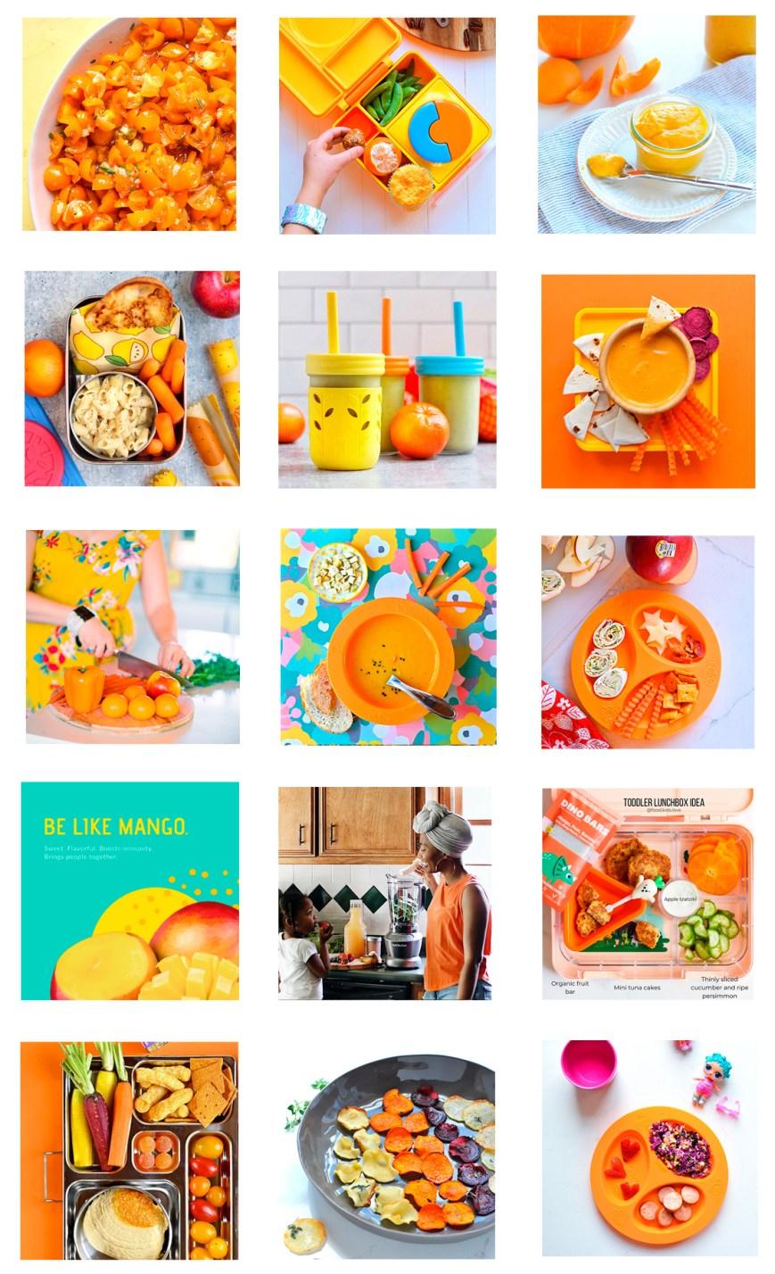 OrangeWeek at eattherainbow_kids