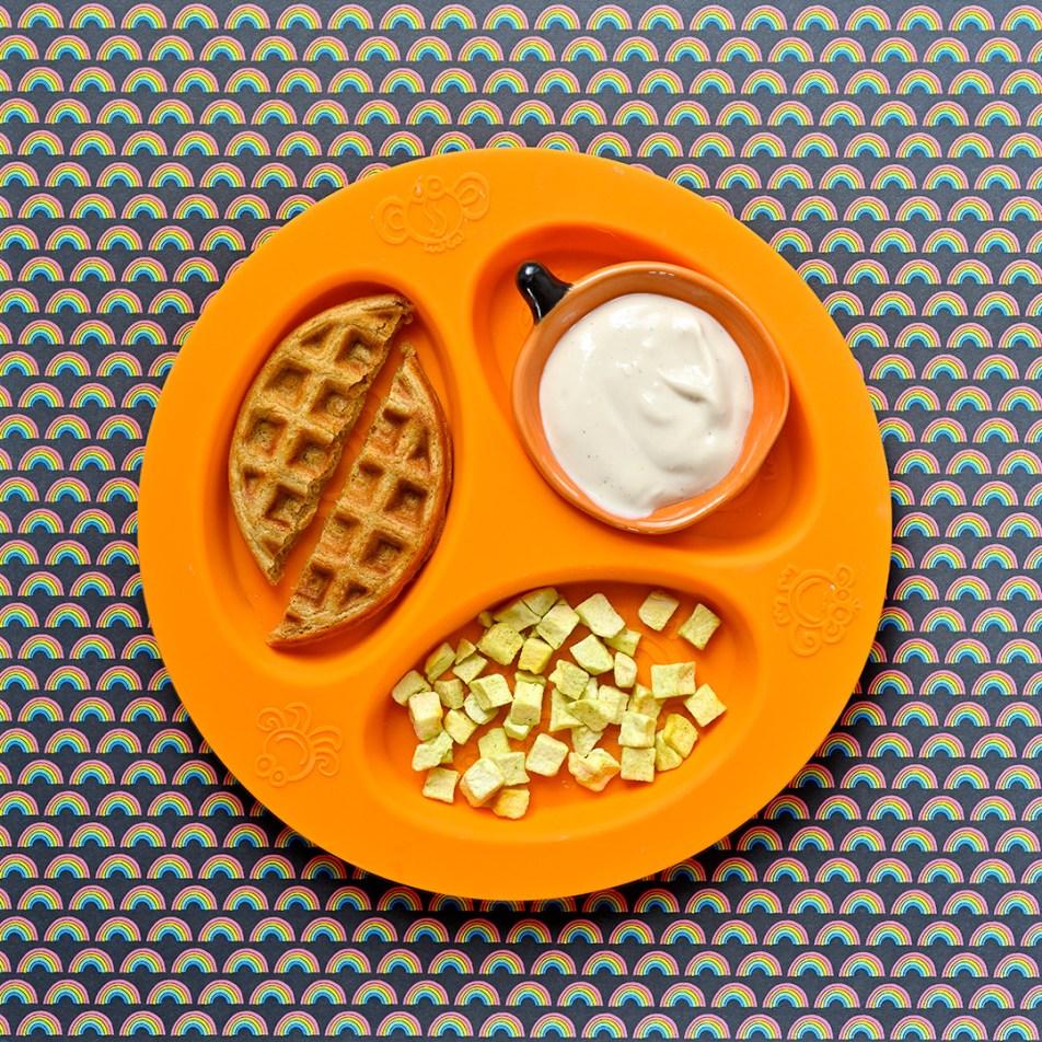 Butternut Almond Butter Waffles