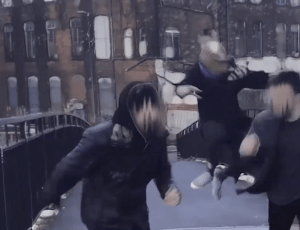 """Bethlehem Casuals follow faceless ghouls and animal-headed beasts thru Manchester in their new single, """"The Oke"""""""