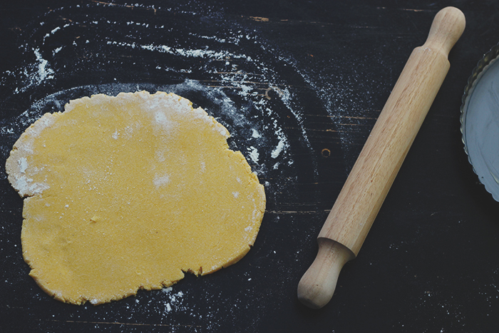 corn and ricotta tart pastry1