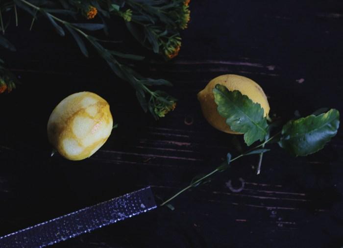 lemons and tarragon