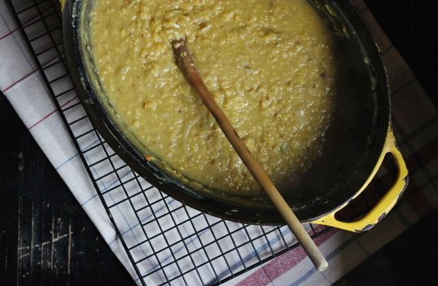 big pot of dhal
