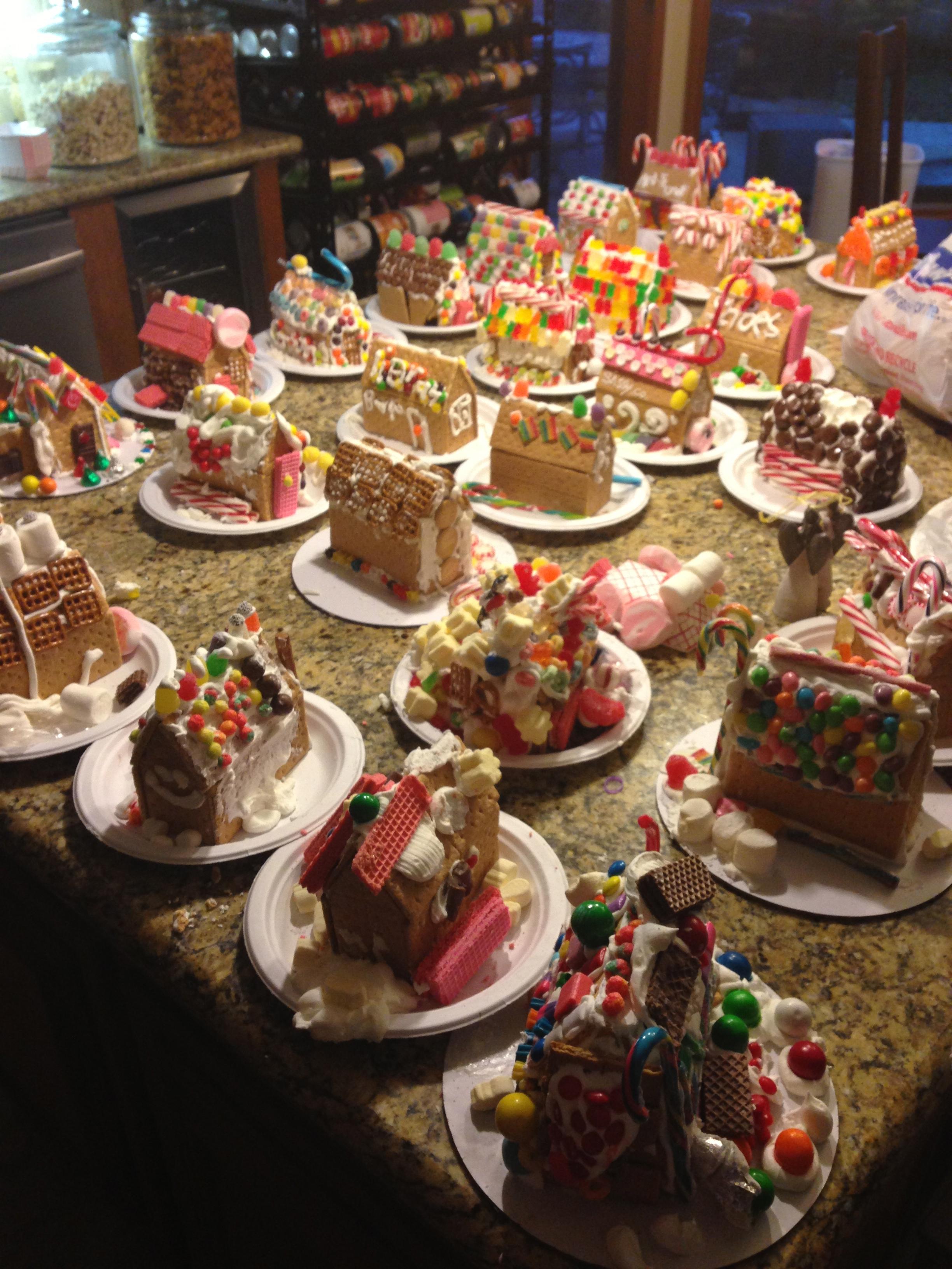 How To Host A GingerBread House Party Eat This Up