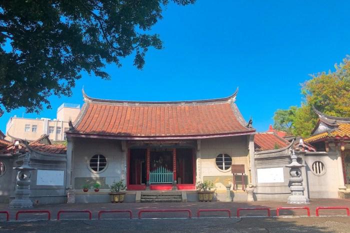台南法華寺|寧靜、祥和、莊嚴,在煩雜的市區中,難得的一片清靜的佛寺。