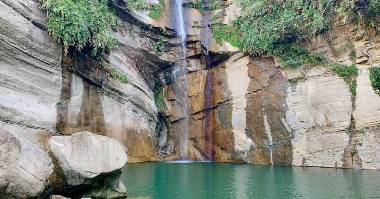 青雲瀑布(情人瀑布)|台三線嘉義大埔免門票景點,適合全家旅遊的風景點。