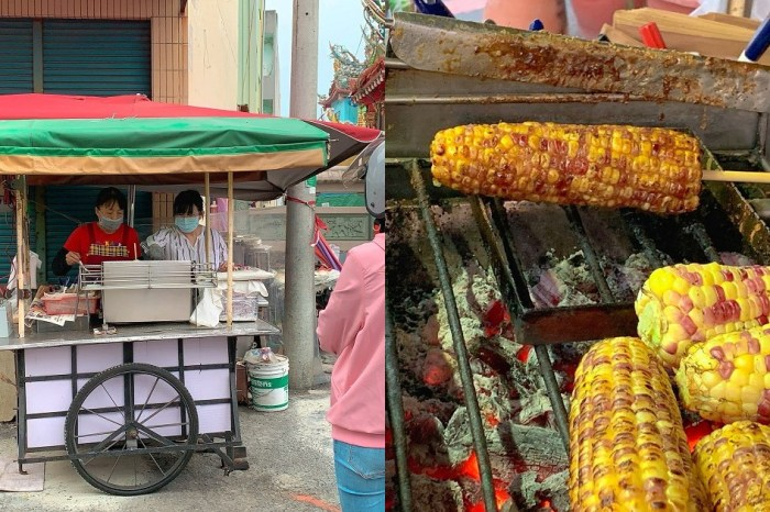 鎮天宮無名烤玉米|來嘉義吃吃喝喝不ㄧ定要吃火雞肉飯,烤玉米也是新選擇!