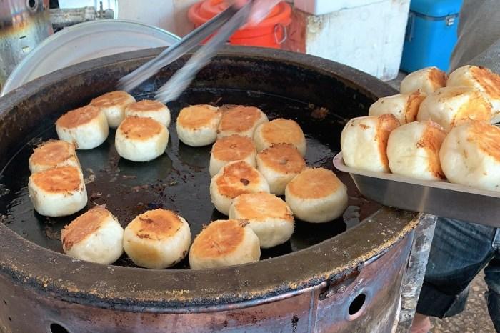 成功路無名水煎包|台南黃金酥皮高麗菜水煎包,下午嘴饞的好選擇!