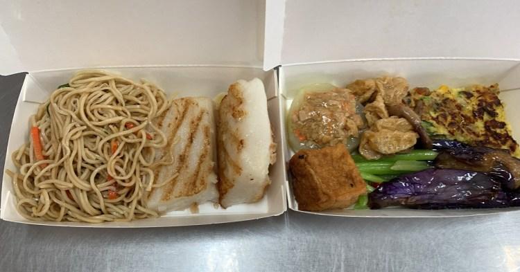 素食中餐自助餐|台南素食美味自助餐,超好吃平價素食便當!