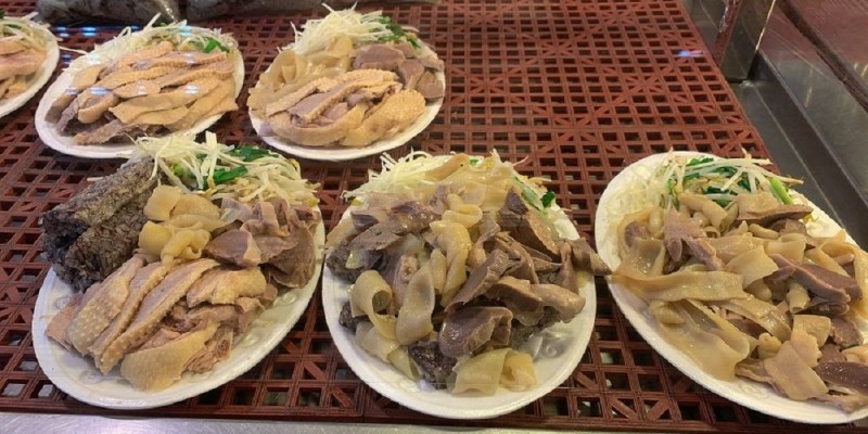 和緯黃昏市場美食 夏天吃下營鵝肉,冬天進補吃薑母鴨!
