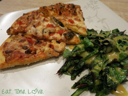Bold Organic's Veggie Lovers Pizza