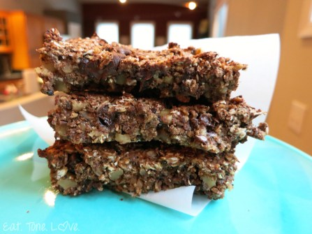 Chocolate Chip Espresso Protein Bar (Gluten Free Vegan)