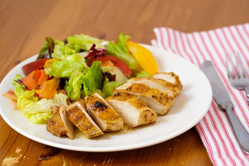 Perfectly juicy and flavorful Chicken Breast.