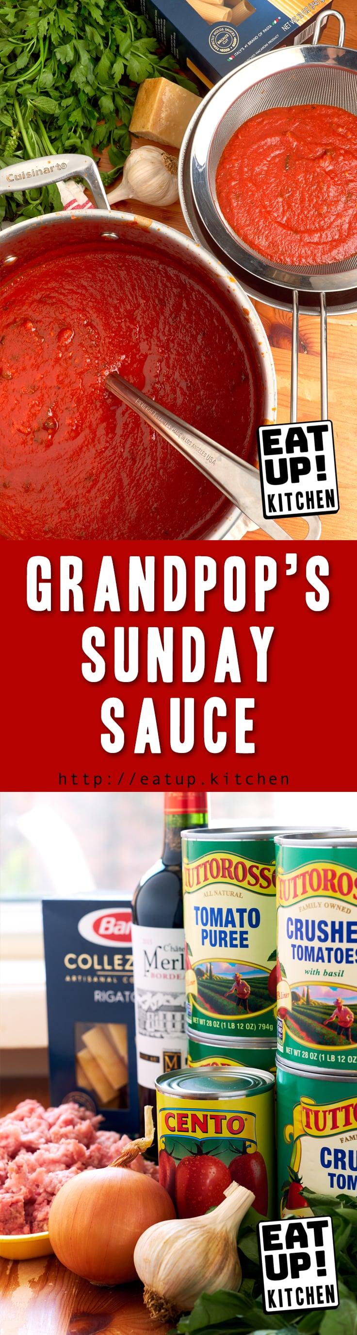 Grandpop's Sunday Sauce