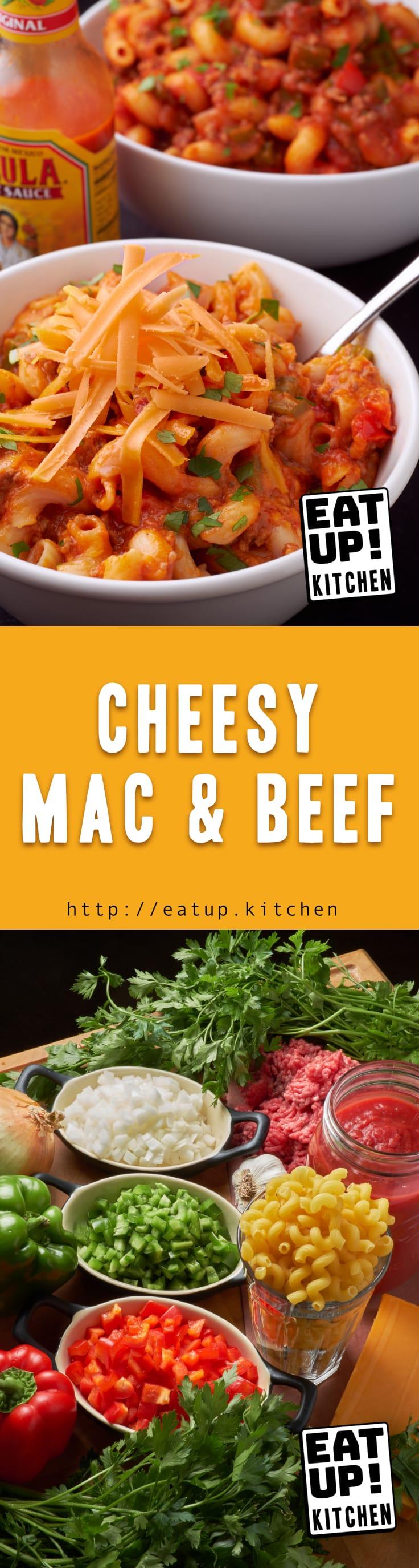 Cheesy Mac and Beef