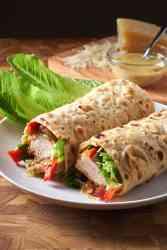 Chicken Tender Caesar Wrap