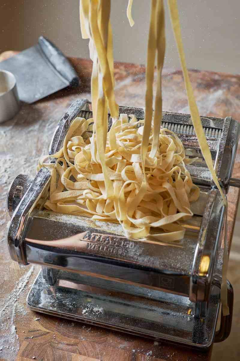 Homemade Fettuccine