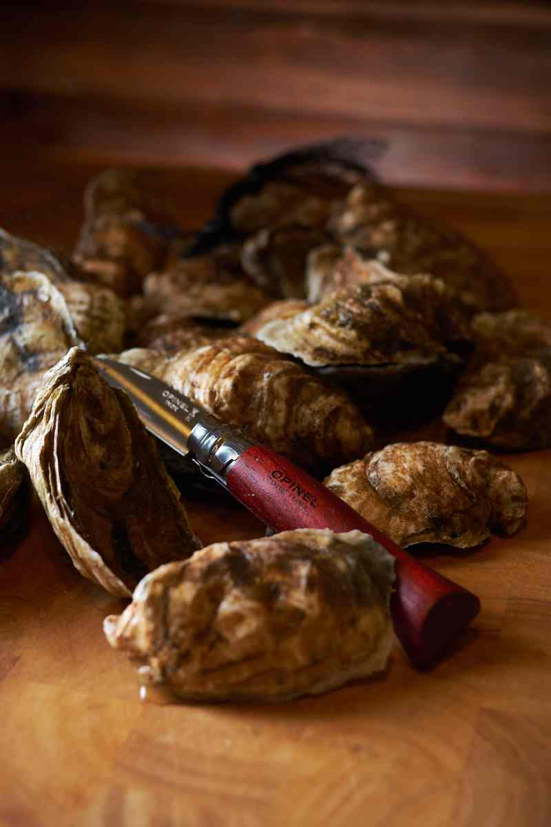 Oysters with Opinel