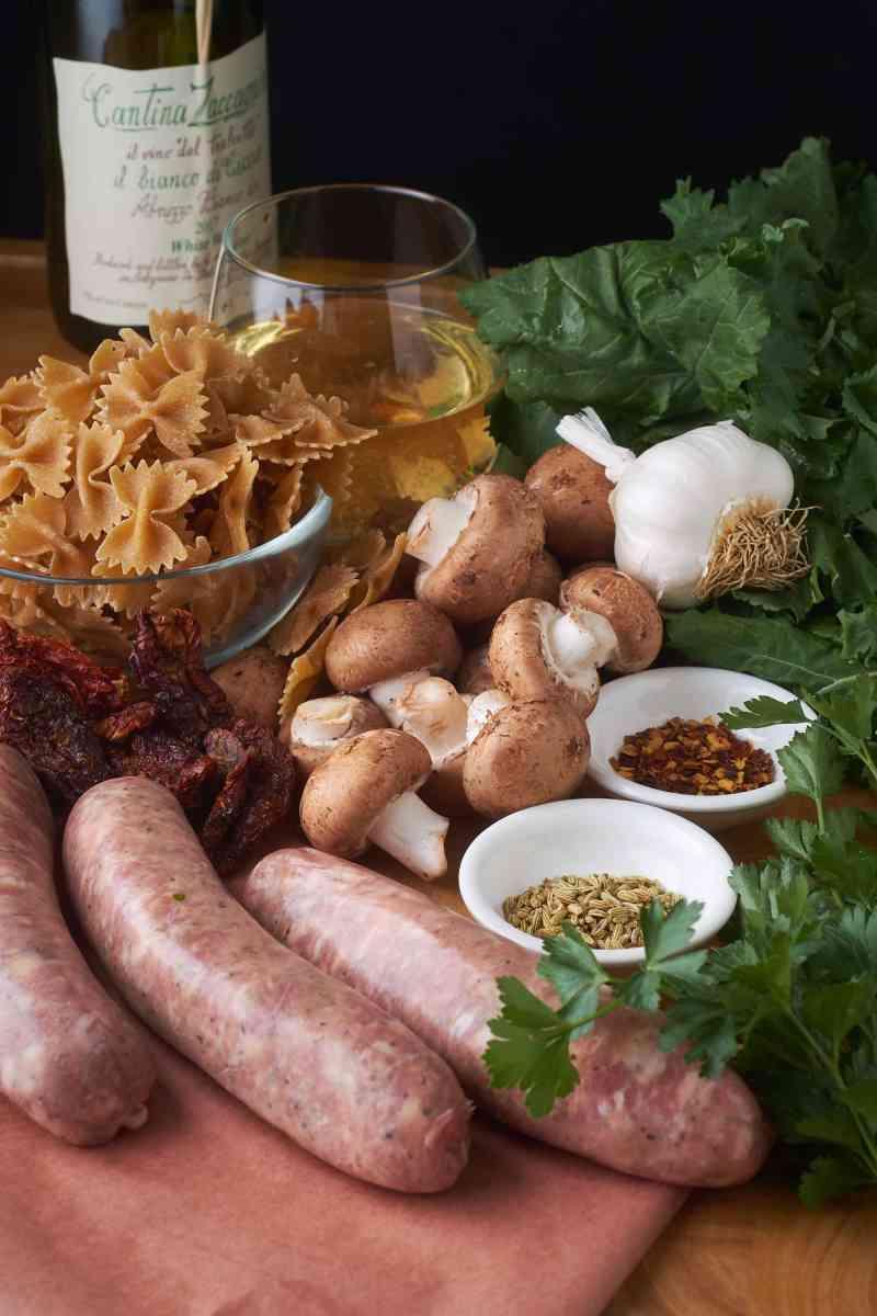 Sausage and Mushroom Pasta