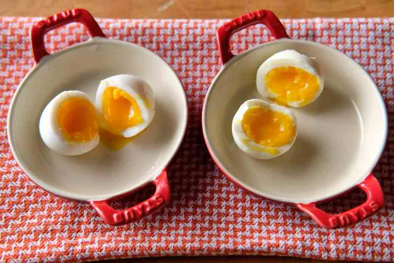 Soft Cooked Eggs - Cold Start