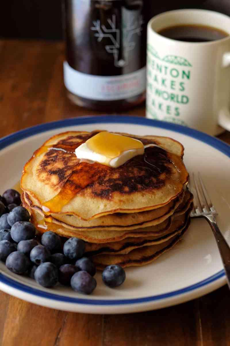 Bourbon Butter Pancakes