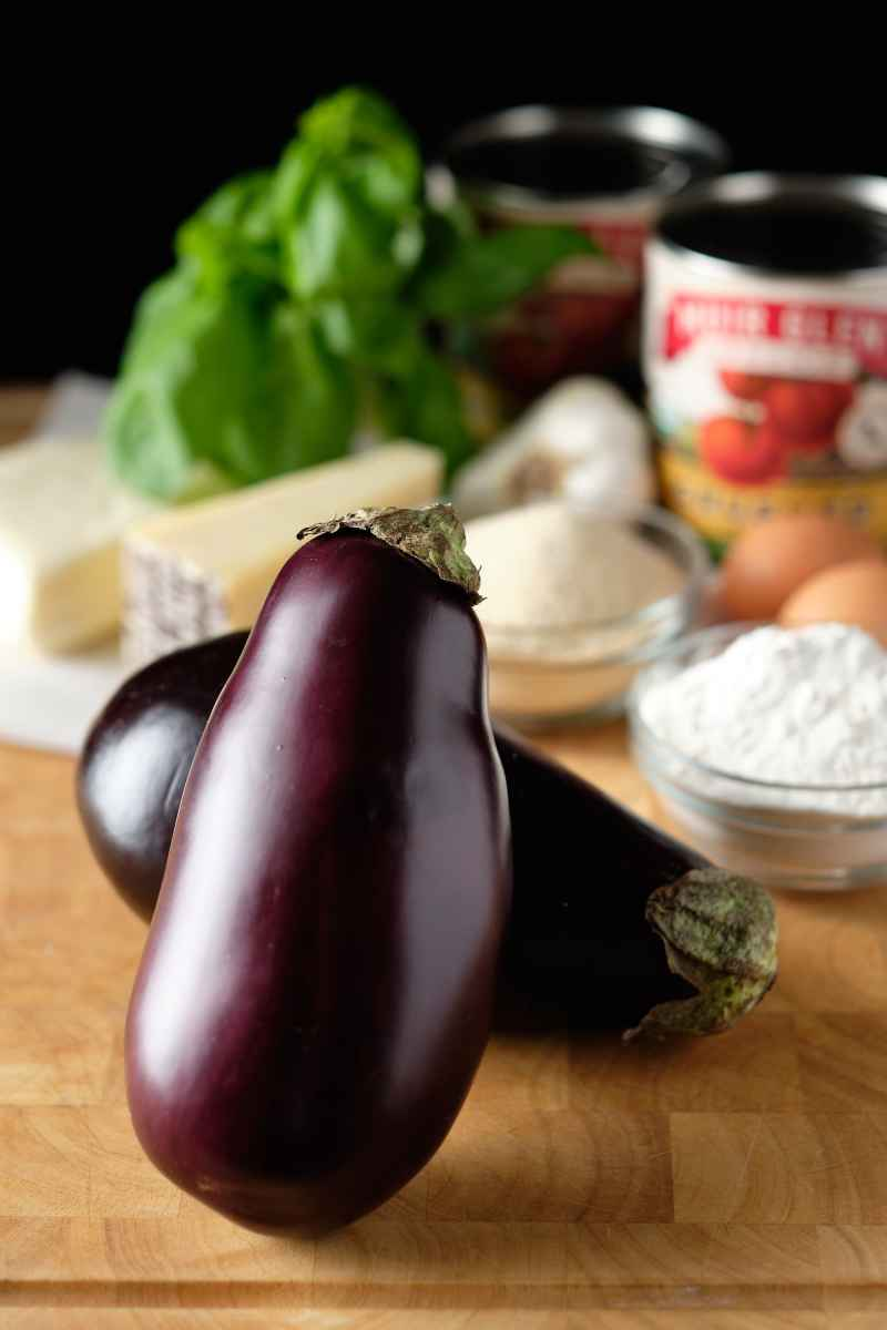 Eggplant Parm Ingredients