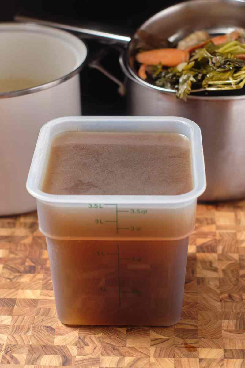 Homemade Vegetable Stock