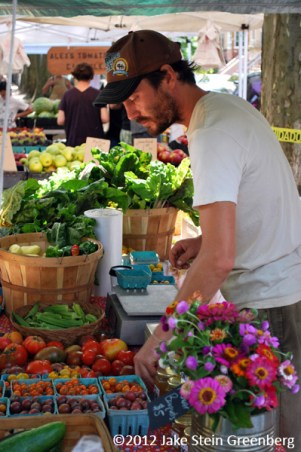 """Roof-to-Table Farmers Market"" - Brooklyn Grange, NY    (c)2012 Jake Stein Greenberg"