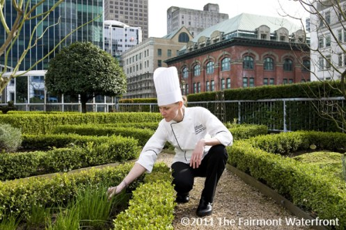 """Hotel Garnish"" - The Fairmont Waterfront, BC 