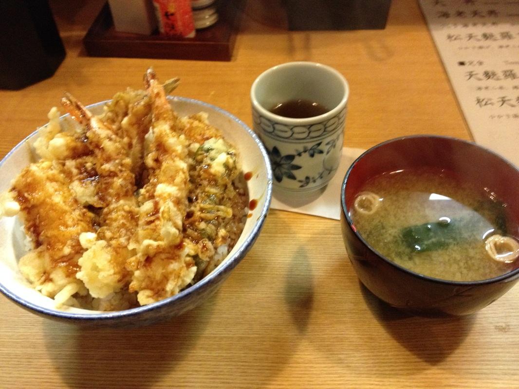 Tendon(天丼)/Tempura Bowl - Lunch 800 yen