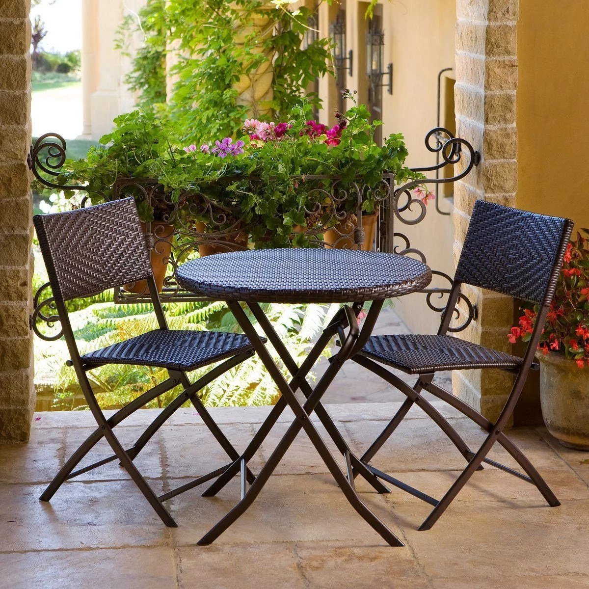 Metal Bistro Table And Chairs 5 Patio Bistro Sets To Enhance Your Coffee Experience Eatwell101