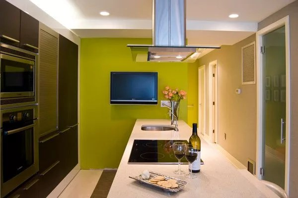 9 Accents Wall Colors That Can Spice Up Any Kitchen