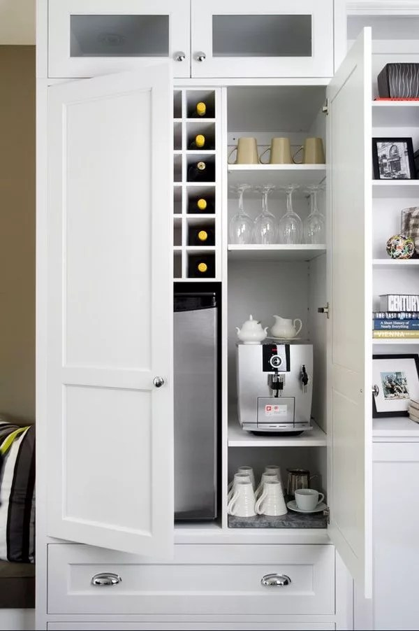 Lightweight Kitchen Cabinets 11 Genius Ways To Diy A Coffee Bar At Home — Eatwell101
